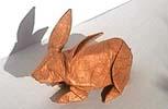 Autre Lapin papier origami